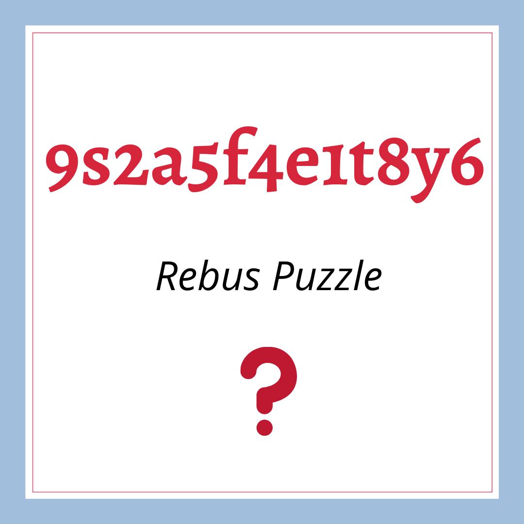 9s2a5f4e1t8y6 Answer